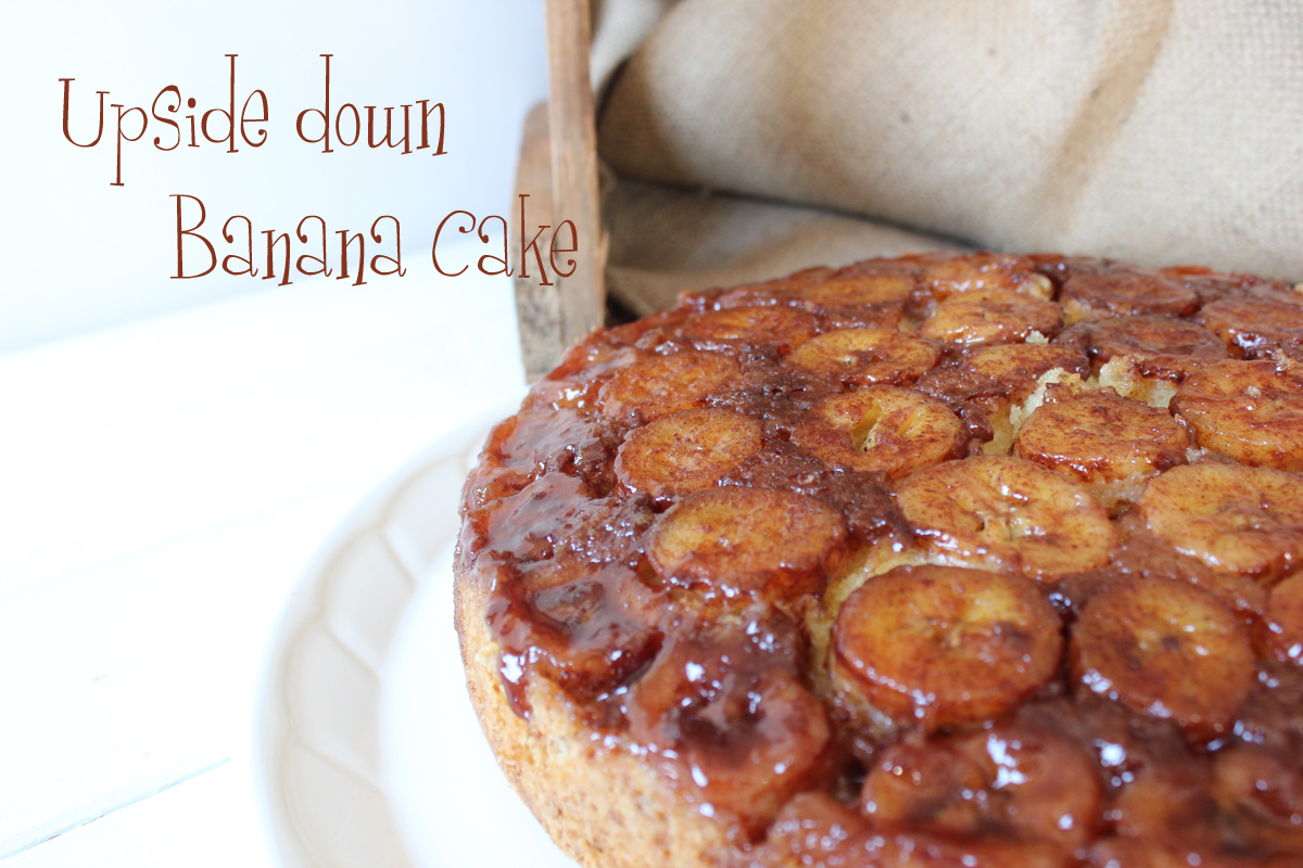 Upside Down Banana Cake Uk
